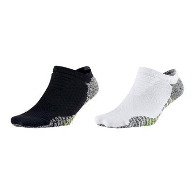 NIKE 女GRIP輕質短襪 (慢跑 路跑 襪子 短襪 一雙入【SX5504】≡體院≡