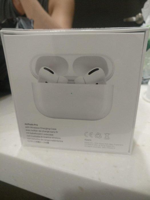 全新未拆 現貨Apple 蘋果 AirPods pro 無線運動耳機 藍牙 iPhone 降噪雙耳 台灣公司貨 淡水自取