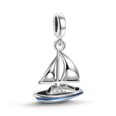 *現貨*SOUFEEL(PANDORA通用) 索菲爾 925純銀串珠 旅行系列  帆船 吊飾 (全店三件免運)