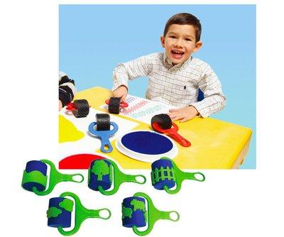 【晴晴百寶盒】英國進口連續印印章 聖誕樹鄉村海洋 創意知訓練玩具 益智 送禮禮物禮品 創意寶寶早教益智遊戲 W002