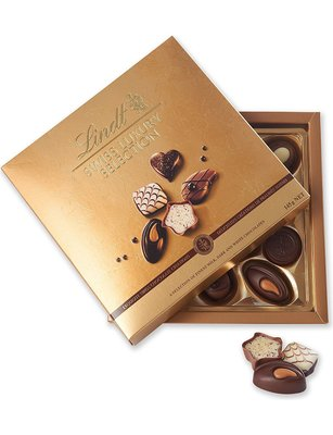 [要預購] 英國代購 瑞士LINDT 奢華系列綜合巧克力 14入 145g