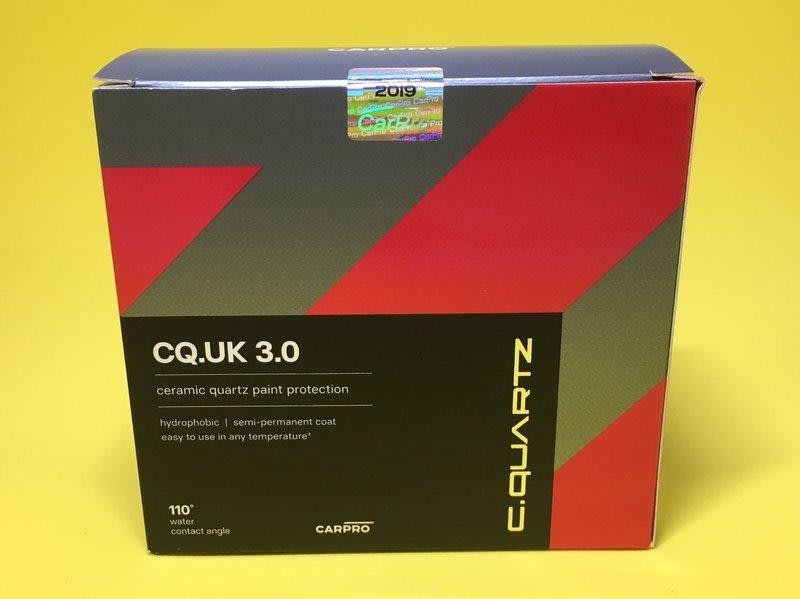 My Love Car 愛車舖 CarPro CQ 鍍膜 Cquartz UK Edition 30ml Kit