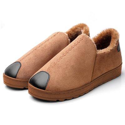 熱賣男士棉拖鞋女新款簡約包跟保暖室外防...