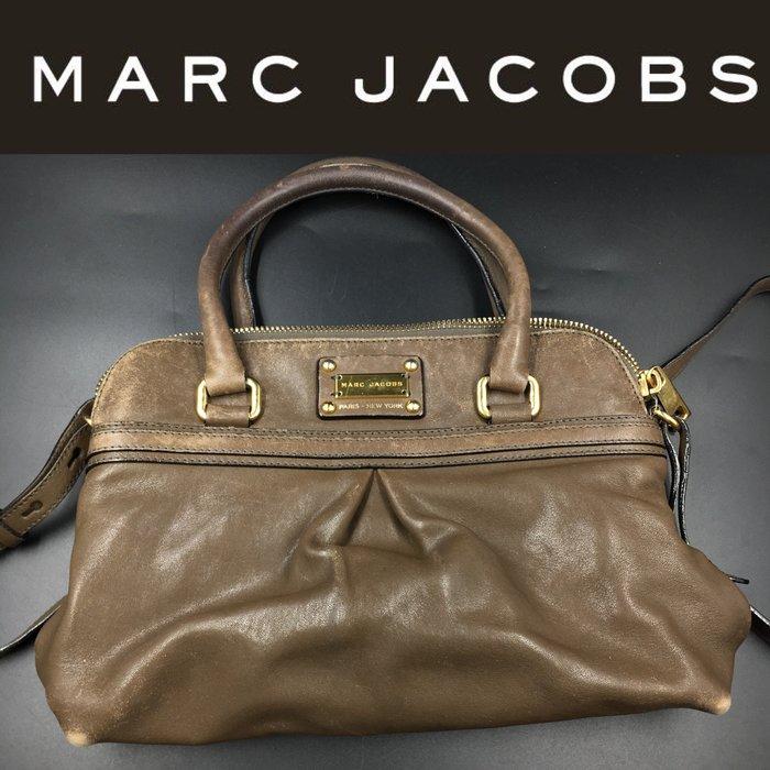【皮老闆】二手真品 美國精品 MARC JACOBS 手提包 肩背包 斜背包 C