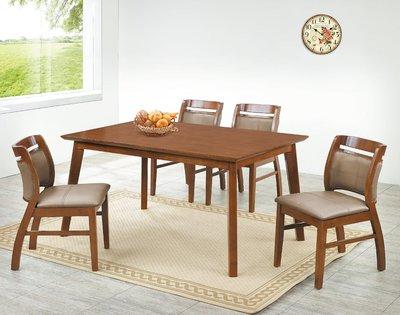 【南洋風休閒傢俱】精選時尚餐桌椅系列- 實木椅 用餐椅 造形椅 洽談椅-樟木色穩餐椅(灰色底)CY364-3