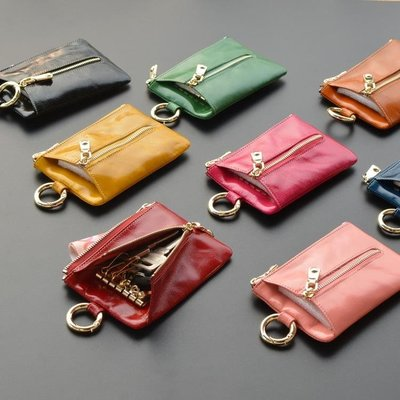 卡包零錢二合一多功能收納鑰匙包女大容量薄韓國可愛小鎖匙扣