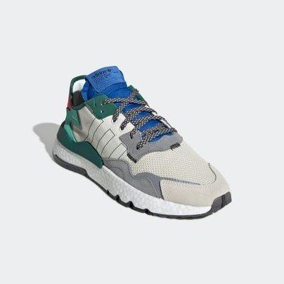 ADIDAS ORIGINALS NITE JOGGER BOOST 灰藍綠 反光 休閒 男鞋 FU6843 YTS
