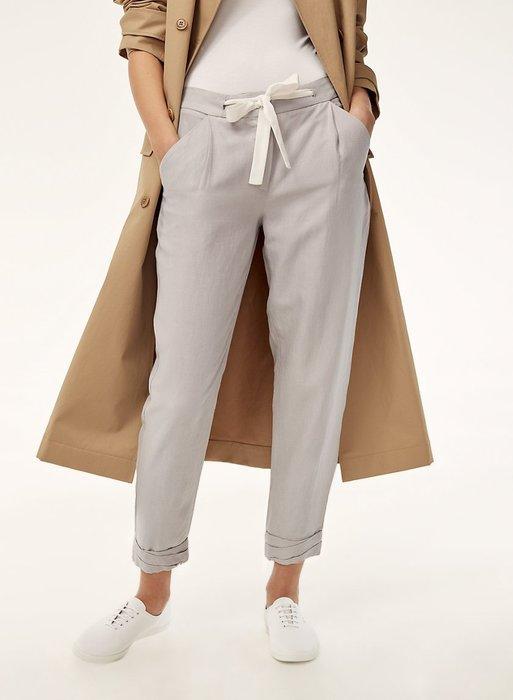 【現貨】 歐美 簡約 綁帶 舒服 休閒褲