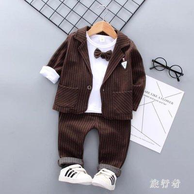 男童禮服 小西裝套裝英倫西服外套2019新款春款寶寶花童禮服 BF22584