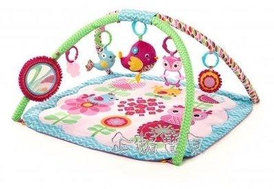 @企鵝寶貝二館@ Kids II-粉紅快樂小鳥遊戲墊(KI52038)