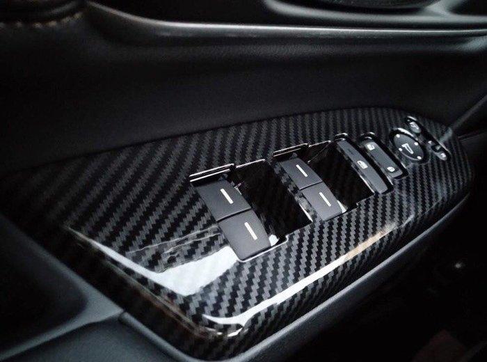 【安喬汽車精品】本田 HONDA CRV5 五代 專用 卡夢紋路 玻璃升降控制面板貼片 水轉 卡夢貼片