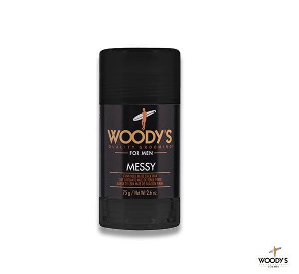 GOODFORIT /美國Woody's Messy Styling Stick膠條髮油/2.6OZ