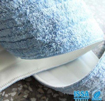~幸福~乾濕兩用平板拖把布 44cm 超細纖維布 極細尼龍 拖把 替換布 藍 SGS