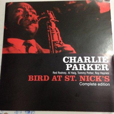 [真的好CD] 完整27曲版 Charlie Parker 查理帕克 Bird at St Nick's