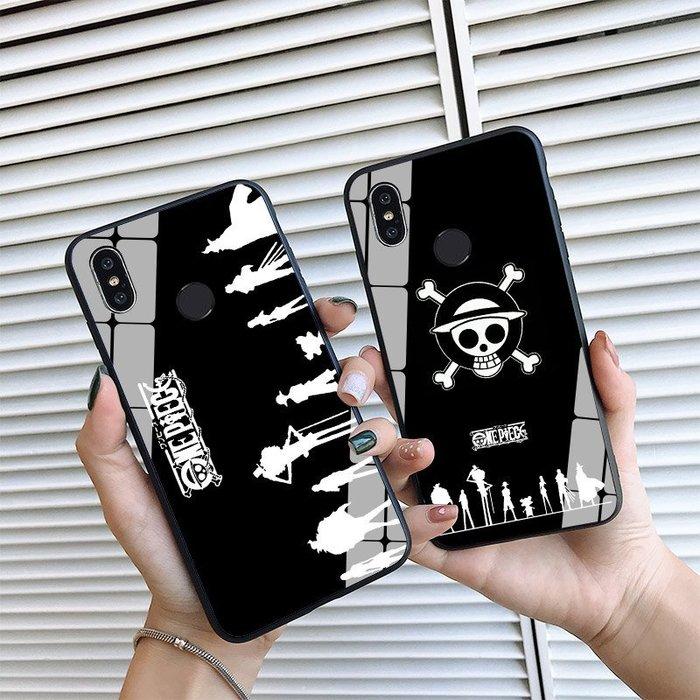 999海賊王路飛索隆小米8/屏幕指紋版/青春版/探索版se手機殼鋼化玻璃