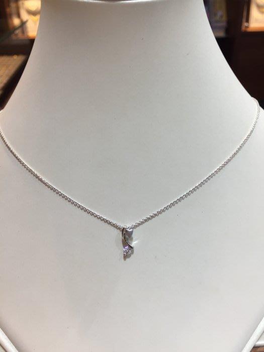 11分天然鑽石墜飾搭配18K金墜台,小巧可愛款式,出清價5980