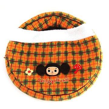 日本pet paradise 大耳猴チェブラーシカ 超Q 溫暖格子絨睡袋*床墊