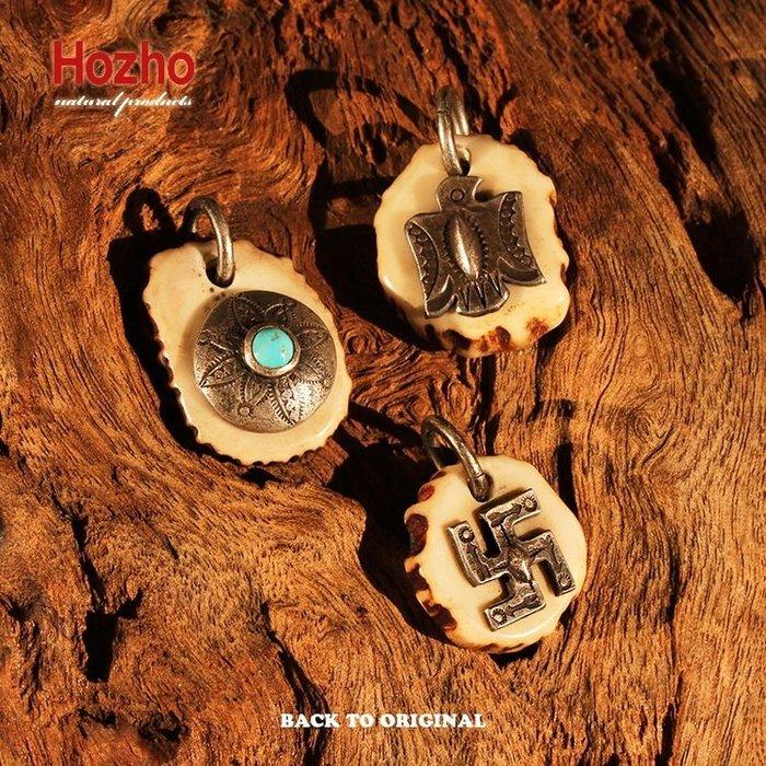 Back to Original【Hozho】日產 老品的氛圍 匠人手做 百搭鹿角小吊墜