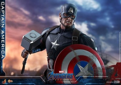 第10日 前期訂單 5月4日 Hottoys 美國隊長 Captain America Avengers Endgame 復仇者聯盟4 終局之戰 MMS536