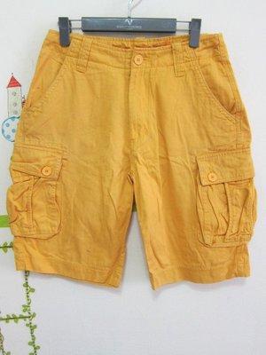 衣市藍~BIG TRAIN 休閒短褲 (M~W30~) (190608)