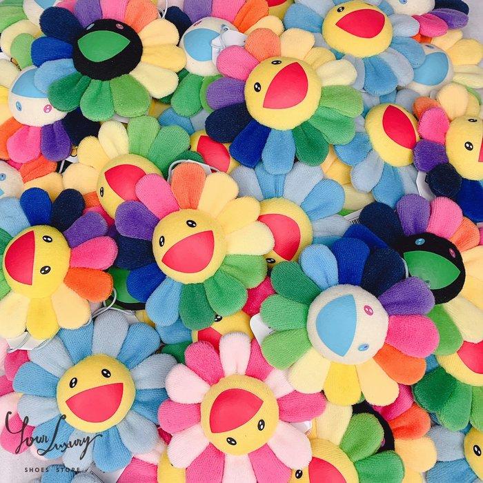 【Luxury】現貨 村上隆小花 大花 kaikai kiki 吊飾 太陽花 微笑花 花別針 藍花 粉花 日本貨 正品