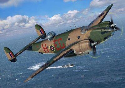 利華REVELL拼裝飛機模型04946 1/48 Ventura Mk.II