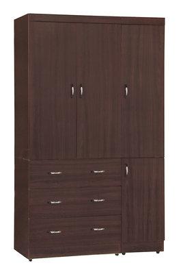 【欣和床店】4X7尺托瑪士衣櫥/衣櫃(C)
