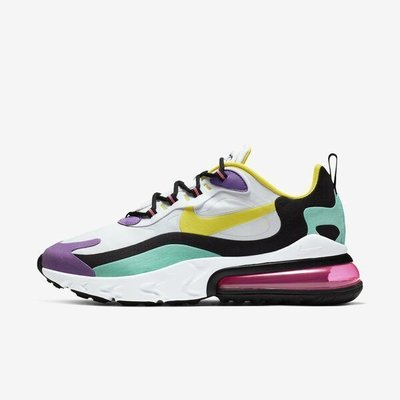 Nike Air Max 270 React  AO4971-101 白紫黃