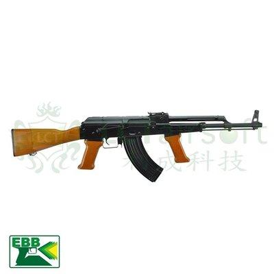 JHS 金和勝- 免運費 LCT AK M63 後座力電動槍 6537 EBB