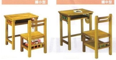 安親班 幼稚園 補習班 學校 課桌椅 改良型 原木 國中 國小制式 書桌椅 屏東市 廣新家具行
