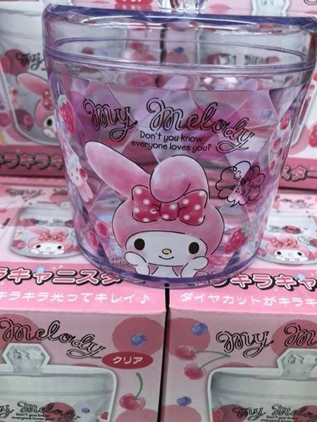 日本 三麗鷗系列夢幻透明置物罐-美樂蒂