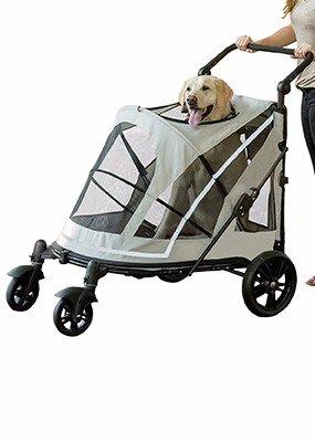 SNOW的家 【宅配免運】【訂購】PET GEAR-羅密歐敞篷無拉鍊寵物推車PG8855