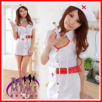 【T-060】俏皮護士裝~專賣各種學生服 女秘書~情人生日禮物~蜜蜜衣舖