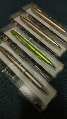 pilot metal biz frixion pen 原子筆 中性筆 擦擦筆 魔擦筆 摩擦筆 可修改 金屬外殼 質感原子筆 百樂