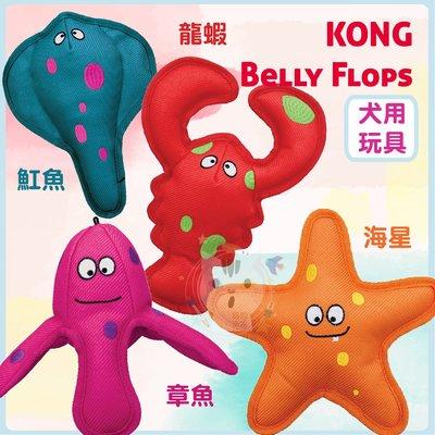 x貓狗衛星x KONG‧Belly Flops 『狗玩具』
