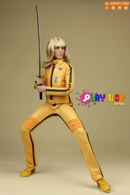 Play toy P004 新娘殺手(標殺令 Kill Bill ,QuentinTarantino , UmaThurman ,)