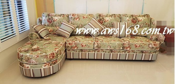 鄉村風L型沙發  全拆式古典復古美式鄉村經典