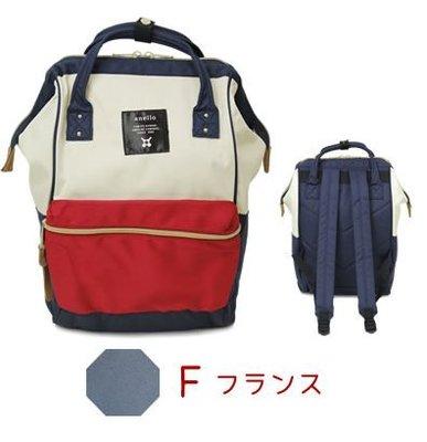 【小糖雜貨舖】日本正品 anello アネロ 米白紅藍後背包 F迷你版 台北市