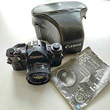 Canon A-1 菲林相機 + 50mm f2.0鏡頭 (FD mount)