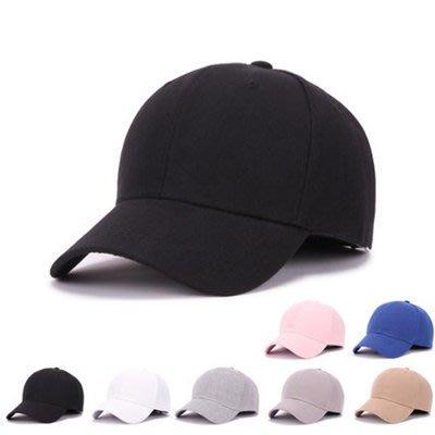 #女神衣櫥#純色棒球帽黑色鴨舌帽女秋男女士情侶嘻哈街舞帽子休閒夏季遮陽帽