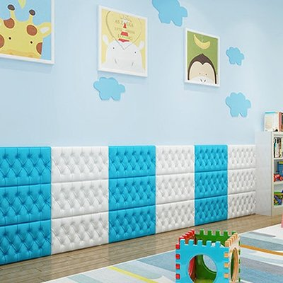 壁貼 3D立體墻貼自粘臥室兒童房防撞床圍榻榻米軟包墻圍客廳電視背景墻 超夯