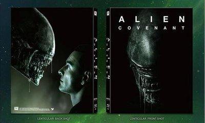 毛毛小舖--藍光BD 異形:聖約 幻彩套限量鐵盒版 Alien: Covenant