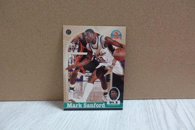 Mark Sanford 1997 Score Board Auto Basketball #50
