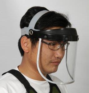 [樂農農] SP-01 頭戴式透明安全面罩 面罩片厚度: 1.0 mm 割草機面罩 防護面罩