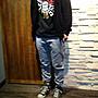 【BELLO】ROCK STEADY RS.15SS HEAVY COTTON JOGGER 棉質 刷毛 縮口褲 黑/灰
