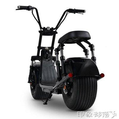 啟牛X哈雷電瓶車成人電動自行車新款雙人大輪胎電動摩托車滑板車