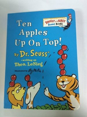 * 英文繪本 / 英文童書 * Ten Apples up on Top [Board Book]