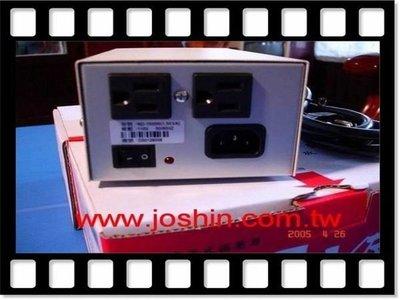 JOSHIN 電子式交流自動穩壓器ND-500M 0.5KVA