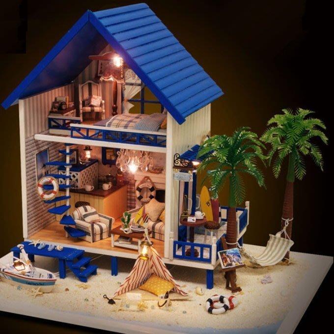 DIY LED拼裝小屋 @希臘愛琴海
