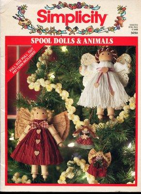 紅蘿蔔工作坊/Simplicity Spool Dolls & Animals(簡易手作掛軸娃娃)(外文書)0C